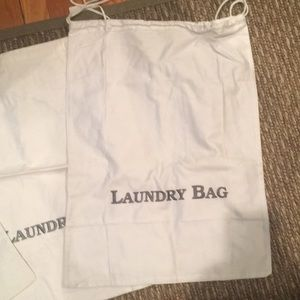 Other - Cotton drawstring bags for laundry and shoes